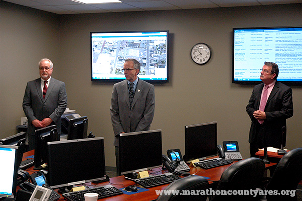Marathon County EOC dedication
