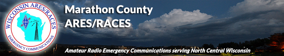 Marathon County ARES/RACES amateur radio emergency